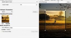 SmillaEnlarger mareste fotografiile fara sa piarda prea mult din calitatea acestora – tutorial video