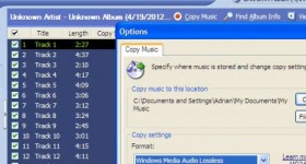 Cum copiem un CD Audio (cu trackuri) folosind Windows Media Player din Windows XP si 7 – tutorial video
