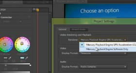 Mercury Playback Engine in Adobe Premiere Pro var palaist ar jebkuru Nvidia - video pamācību