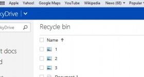 Wie man gelöschte Dateien von SkyDrive Konto wiederherstellen - Video-Tutorial