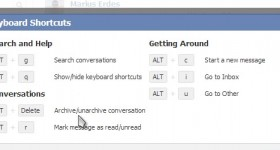 Facebook messages as delete, archive and manage - video tutorial