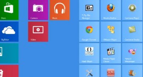 Cum lansam aplicatiile Metro UI din interfata Desktop pe Windows 8 – tutorial video