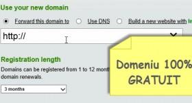 Wo wir können eine kostenlose Domain zu bekommen? - Video-Tutorial