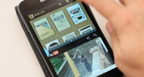 True multitasking on older phones Samsung with Android - video tutorial