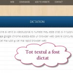 Dicteaza calculatorului in limba romana chiar si cu diacritice