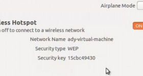 Hogyan lehet a vezeték nélküli router egy laptop Ubuntu
