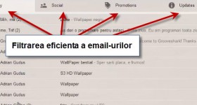Noul Gmail, curatati inbox-ul activand sortarea in taburi