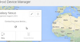 Správca zariadení Android umožňuje odstrániť dáta a umiestnenie telefónu