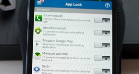 Paroleaza the phone and tablet applications with App Lock