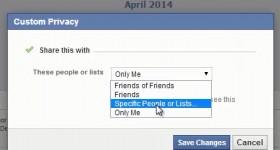 Cum ascundem cu cine am devenit prieteni pe Facebook