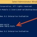 Cum recuperam cheia de licenta pentru activarea Windows 8 si 8.1 Pro