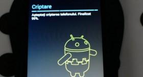 Criptarea telefonului sau tabletei android inainte de vanzare