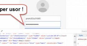 Cum se gaseste parola de sub caracterele punctate din browser!