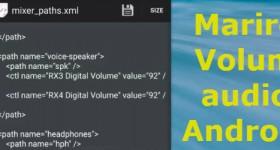 Ampliar auscultadores Android ou o volume do altifalante