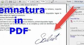 Underteckna gratis PDF-skrivare och scanner