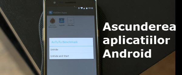 Hiding Android applications on your phone