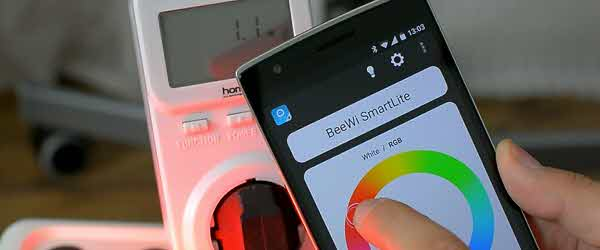 BeeWi, smart bulb white and color, with control and programming via Bluetooth
