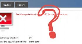 Inaktivera Update och Windows Defender 10