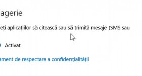 Setări confidențialitate Windows 10 – important