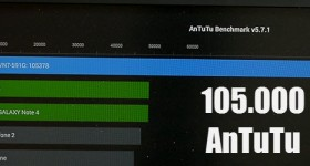 Android on your PC or laptop, fast suuuper, 105.378 in AnTuTu