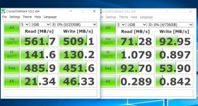 Namestitev M.2 SSD in SSD performance razlika vs sshd