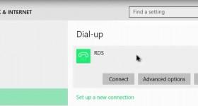 Cum se face conexiunea PPPoE de la RDS in Windows 10