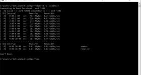 iperf mejor software para pruebas de velocidad