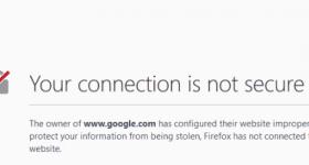 Probleme cu certificatul în browser