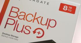 Seagate Backup Plus 8TB beoordeling, een externe harde schijf zeer snel