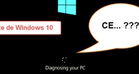 PC startup error, Preparing automatic repair, Diagnosing your PC