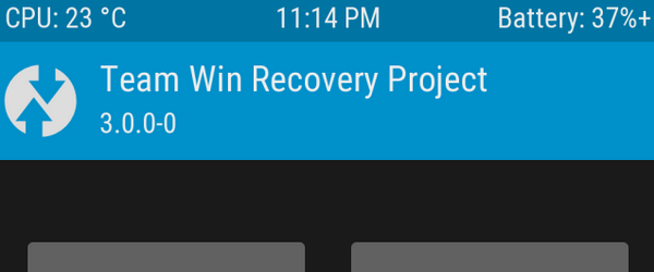 Installer TWRP Recovery på alle Android
