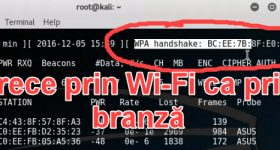 เครือข่าย Wi-Fi ที่สามารถหักกับอะแดปเตอร์ USB นี้และกาลี