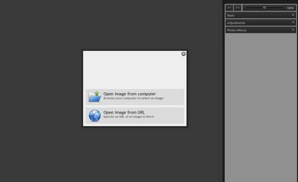 Adobe Photoshop Express editor on-line tanto aqui no site