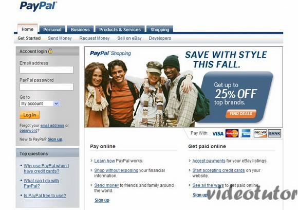 95fc5d0e9 كيفية جعل المدفوعات عبر الإنترنت والحصول على المال على الانترنت وحساب باي  بال