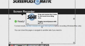 Screencast-O-Matic, fange desktop fangst animert gif av oppnådd uten programvare - video tutorial