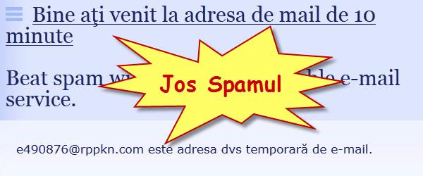 Cum sa eviti spamul folosind adrese de email temporare – tutorial video