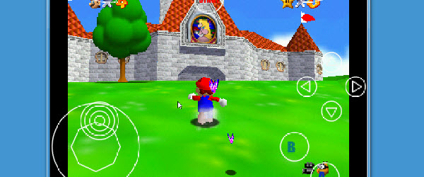 64 Nintendo emulator dan permainan (Mario, Zelda, Kart