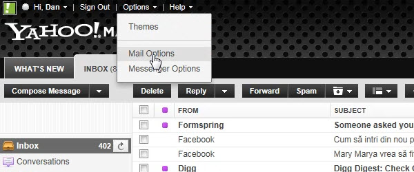 Cum blocam email-urile nedorite din contul Yahoo Mail – tutorial video