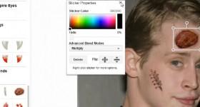 úpravy fotografií, efekty, dekorácie, textu Creative Kit od Google Plus - výukové video