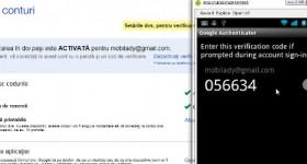 Tine hackerii la distanta cu verificarea in doi pasi pentru contul Google – tutorial video