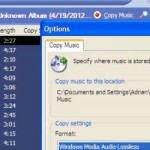 How to copy a CD Audio (with tracks) using Windows Media Player in Windows XP and 7 - video tutorial
