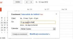 Google Calendar, notificari sms pentru intalniri, agenda, organizare timp liber – tutorial video