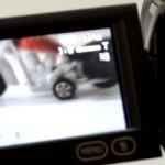 Panasonic HDC-SD20 videokamera es strādāju pirms došanās pie miera - Backstage