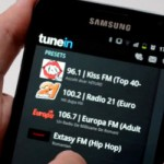 TuneIn, online radiostasjoner, radio alarm, nedleggelse planlagt for Android-telefoner - video tutorial