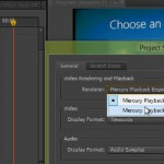 Mercury Playback Engine v Adobe Premiere Pro lahko deluje s katerim koli Nvidia - video tutorial