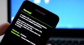 Hvordan installere firmware på Samsung mobiltelefon søknad Odin - video tutorial