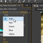 Adobe After Effects, kako narediti barvne popravke - video tutorial