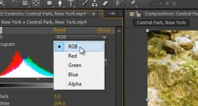 Adobe After Effects, cum se fac corectii de culoare – tutorial video