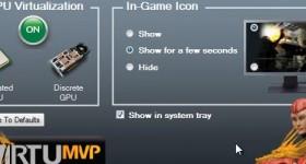 Virtu MVP de la Lucidlogix, o tehnologie care ne ajuta sa jonglam cu procesoarele grafice – tutorial video