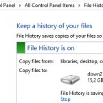 File History, salveaza si recupereaza fisiere in Windows 8 – tutorial video